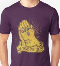In Gems We Trust Unisex T-Shirt