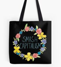 Smash Capitalism- Variation 3 Tote Bag