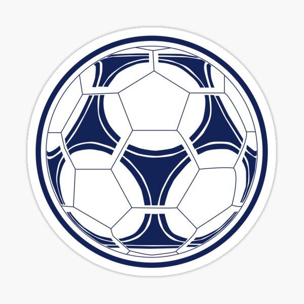 Tottenham Soccer Ball Sticker