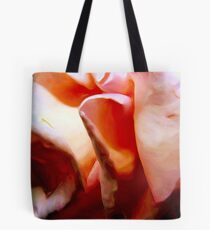 Pink Folds Tote Bag