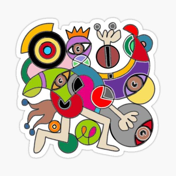ANeyeANdANeye Sticker