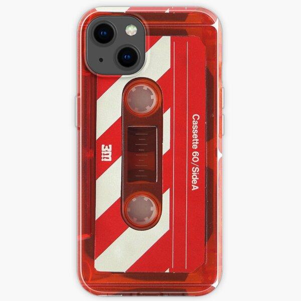 3M Vintage Red Cassette Tape iPhone Soft Case
