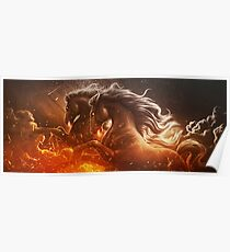 Fire with Horses Poster