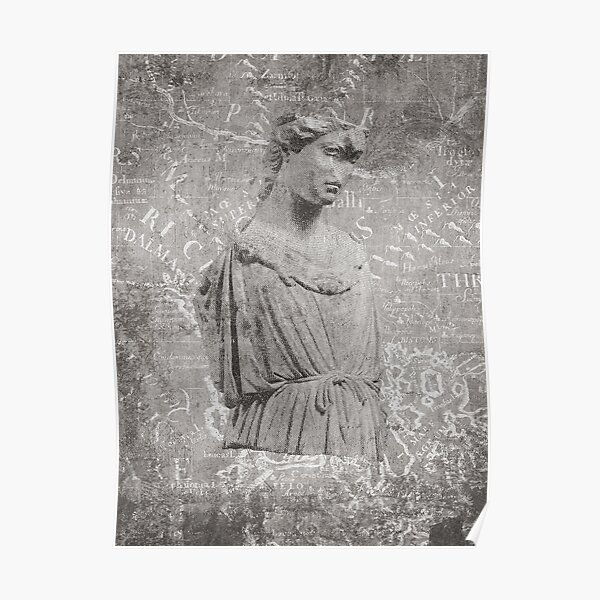 ANCIENT / Figure of Athena Poster