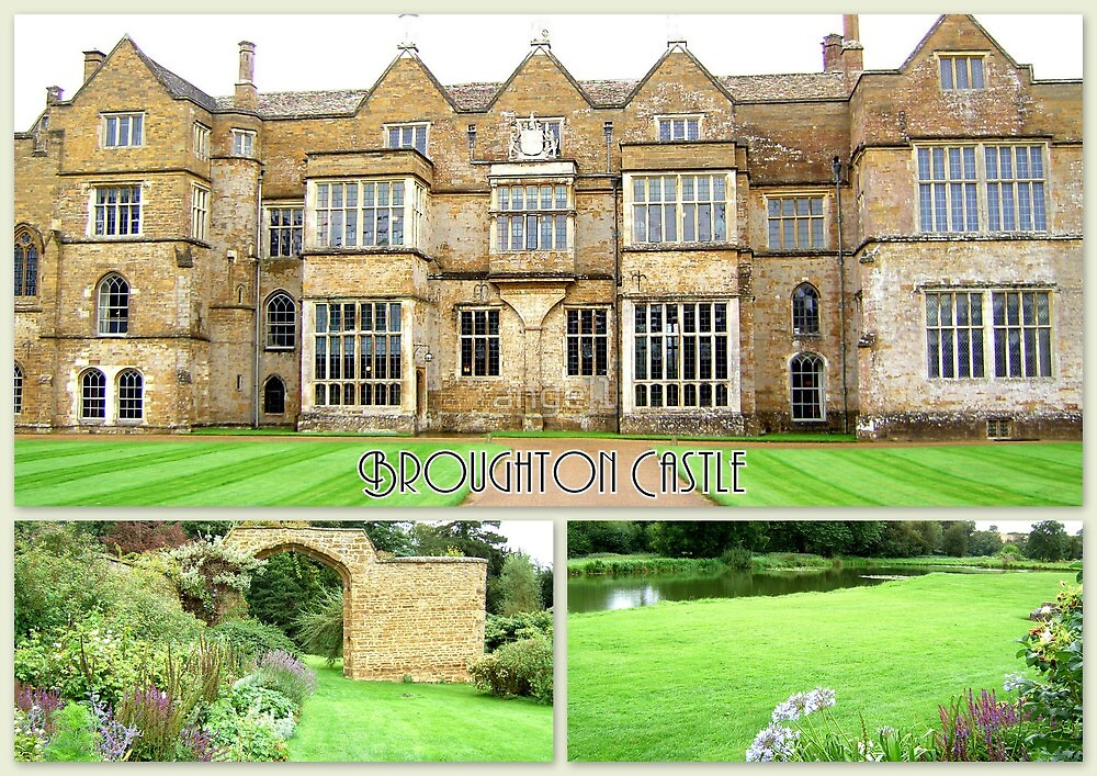 Broughton Castle by ©The Creative  Minds