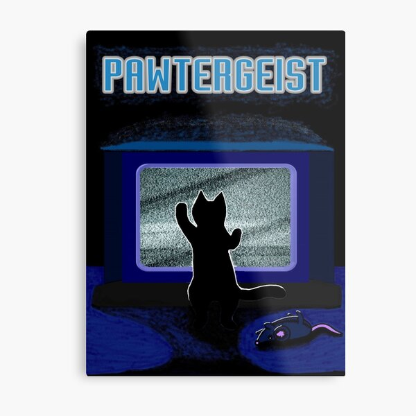 Pawtergeist Metal Print