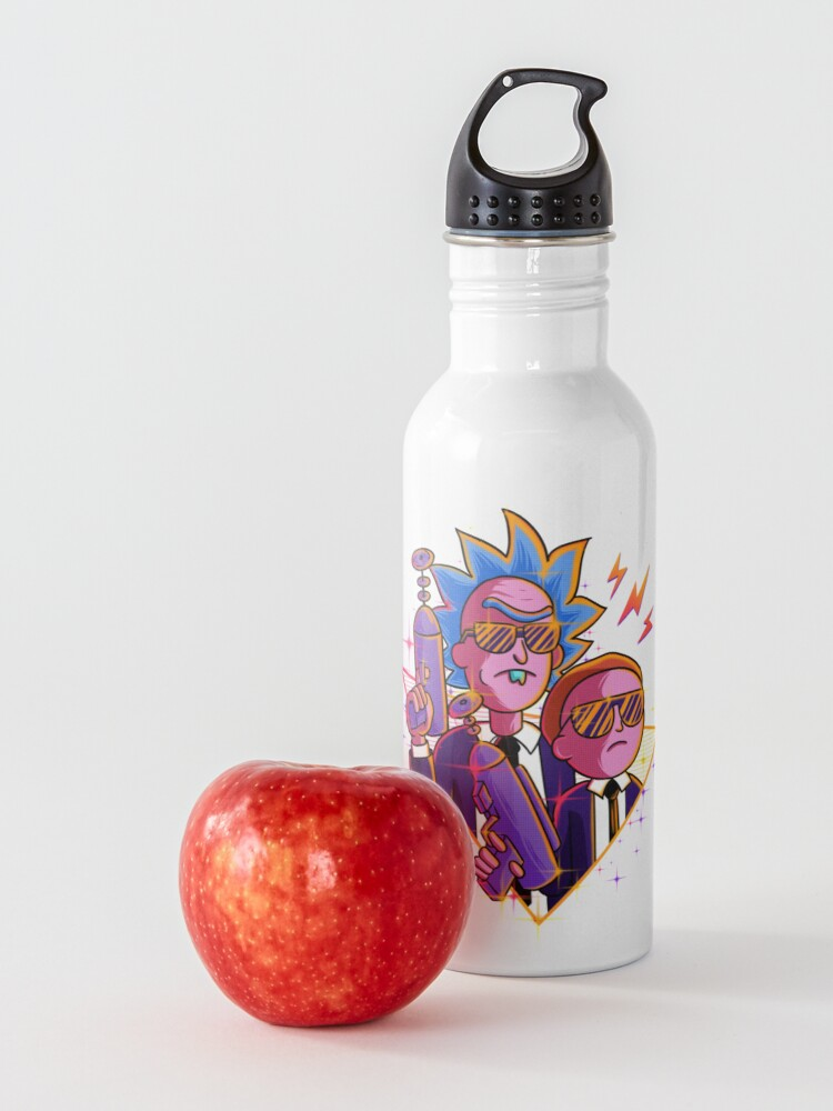 Alternate view of rick and morty  Water Bottle