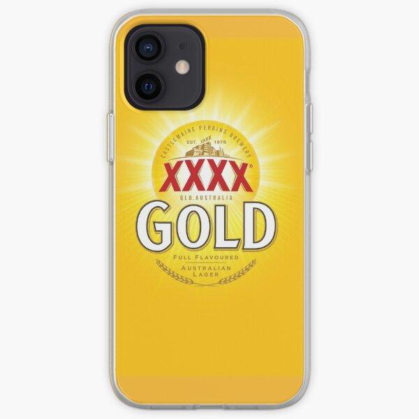 XXXX Gold iPhone Soft Case