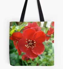 Japanese Quince Tote Bag
