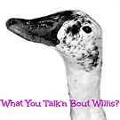 What You Talk'n Bout Willis? by Vince Scaglione