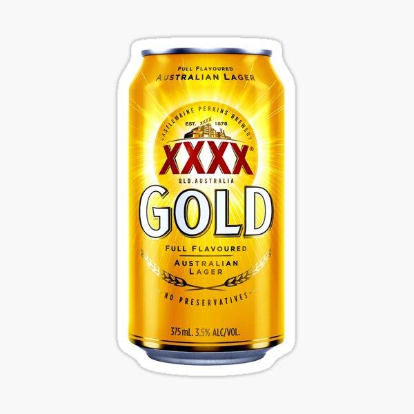 XXXX Gold Can Sticker