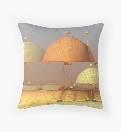 Muncher 4 Throw Pillow
