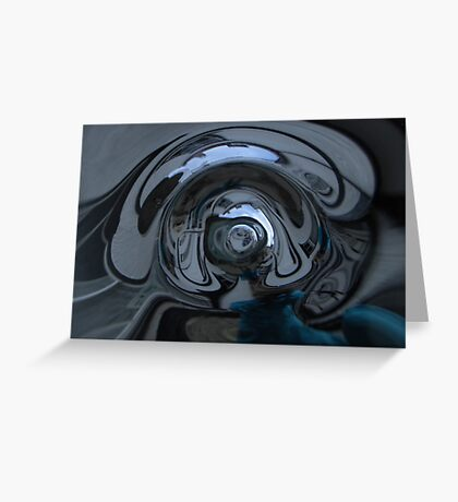 Reflections in Glass Greeting Card