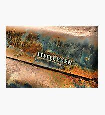Studebaker 3 Photographic Print