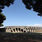 Amphitheatre - Pompeii by Samantha Higgs