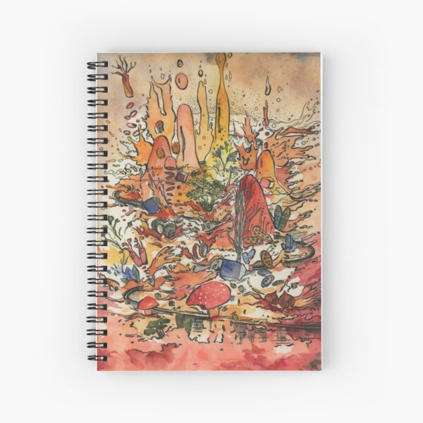 soup mountain  Spiral Notebook