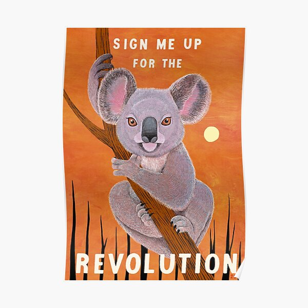 Sign me up for the Revolution Poster