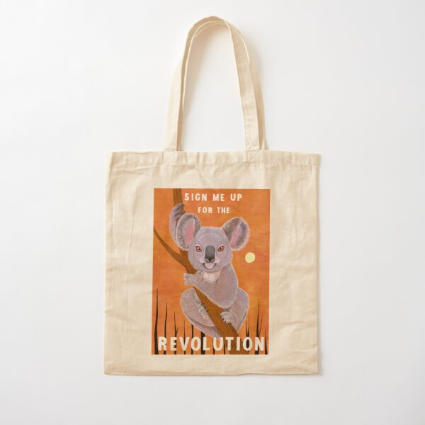 Sign me up for the Revolution Cotton Tote Bag