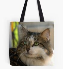 """""""I'm Mattie Girl, and Everyone Falls in Love With Me"""" Tote Bag"""