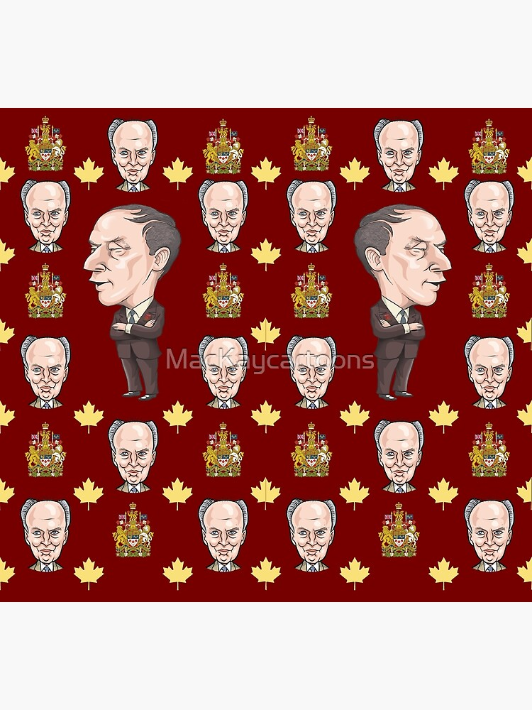 Pierre Trudeau by MacKaycartoons