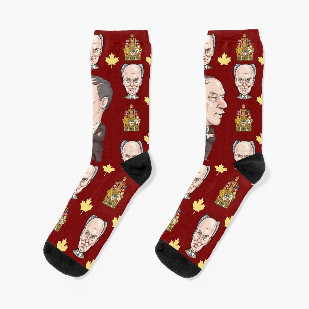Pierre Trudeau Socks