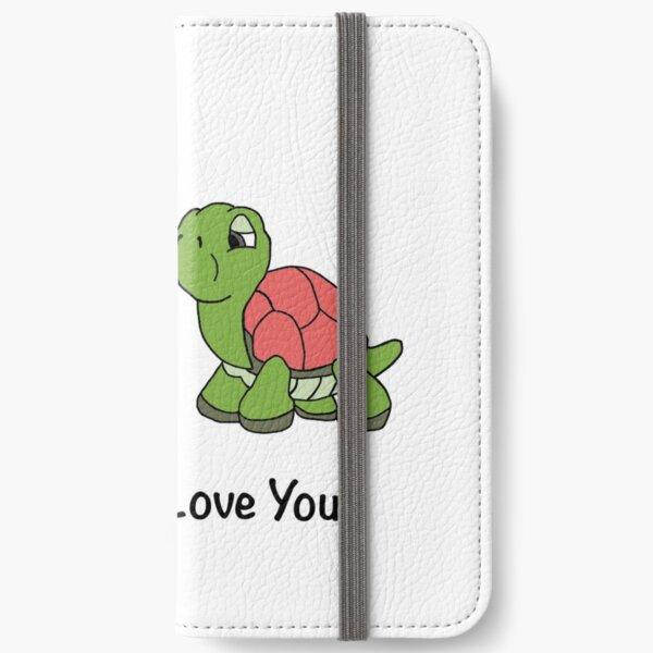 Valentines Turtle Design iPhone Wallet