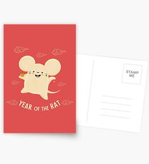 Happy Lunar New Year of the Rat Postcards