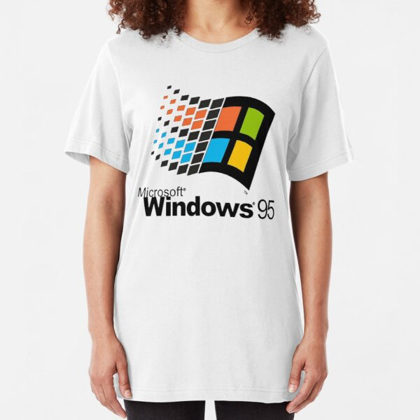 Microsoft 95 Slim Fit T-Shirt
