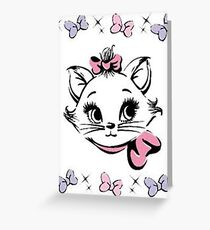 Aristocats - Marie Greeting Card