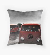VW Show N Shine Split Screens Throw Pillow