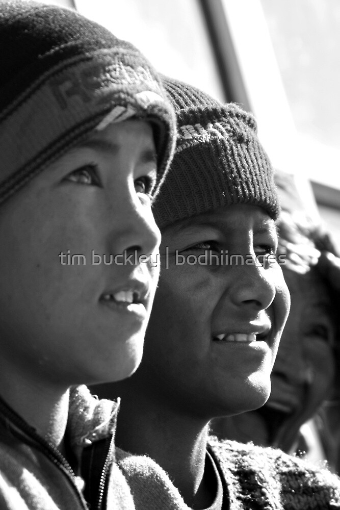 boys. rewalsar, india by tim buckley | bodhiimages