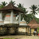 Built on Rock - Gadaladeniya Temple by Dilshara Hill