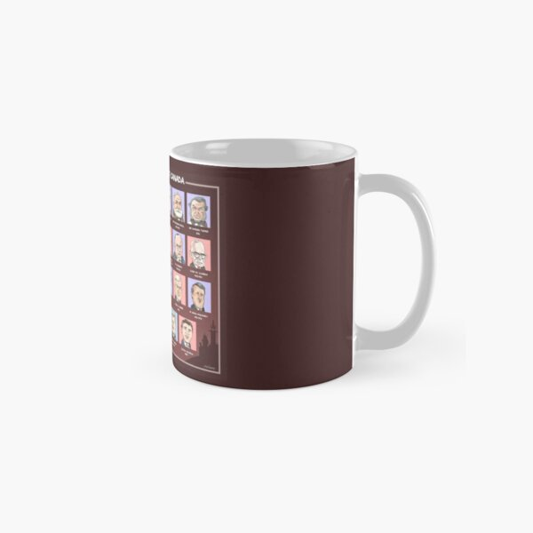Canada's Prime Ministers (updated 2020) Classic Mug
