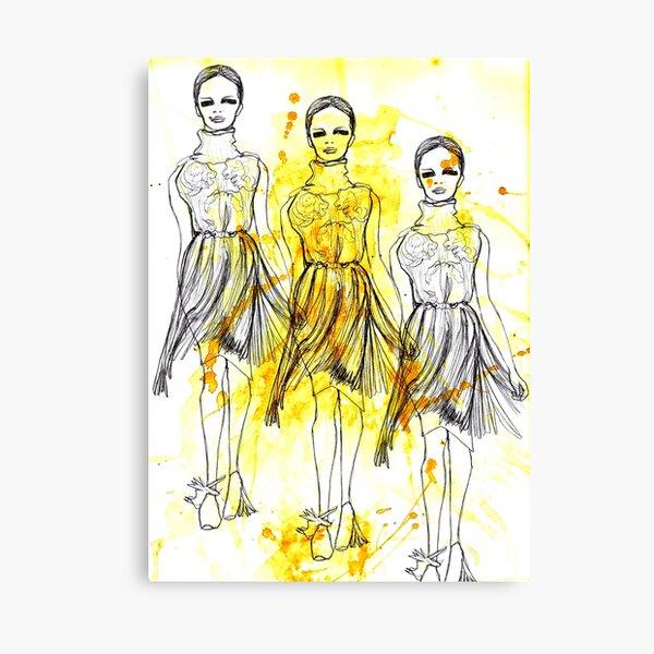 Fashion Triptych Canvas Print