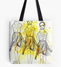 Fashion Triptych Tote Bag