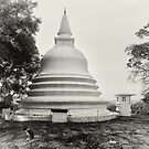 Buddhist Vihara - Lanaktilaka Temple by Dilshara Hill