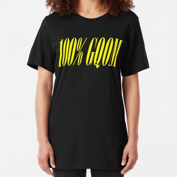 100% GQOM Slim Fit T-Shirt