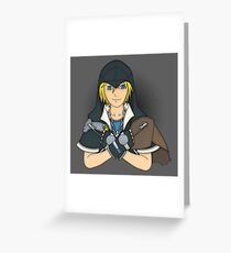 Hearts Assassin Greeting Card