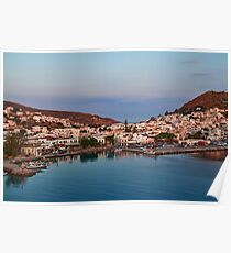 Greece. Island of Patmos. Poster