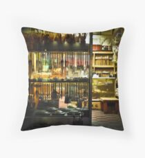 Bonkers About Brushes Throw Pillow