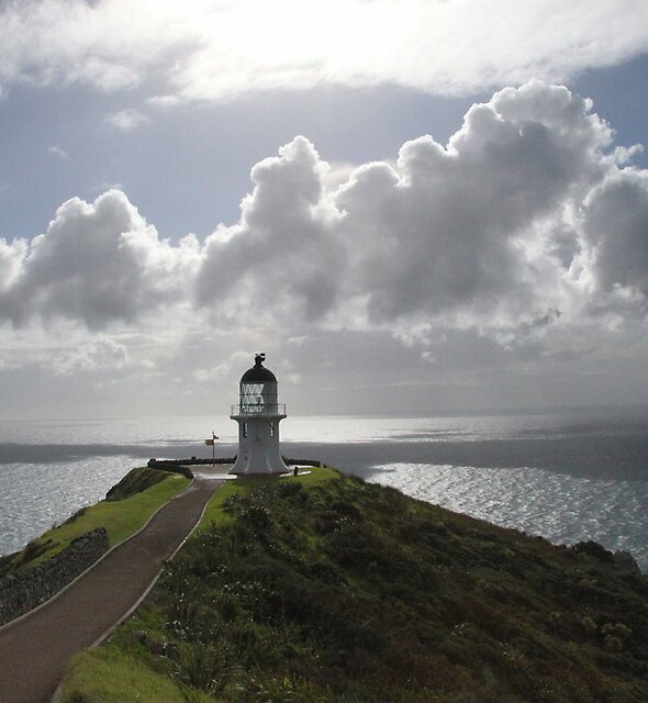 Cape Reinga Lighthouse by Tony Foster