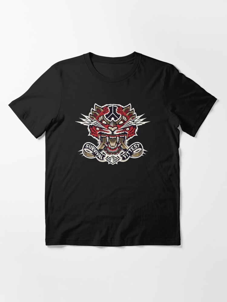 Alternate view of Defqon - Survival of the Fittest Essential T-Shirt
