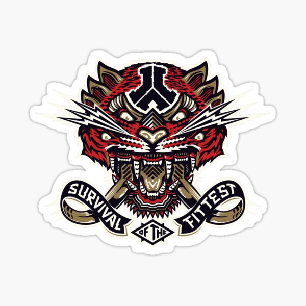 Defqon - Survival of the Fittest Sticker