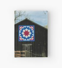 Kentucky Barn Quilt - Carpenters Wheel Hardcover Journal