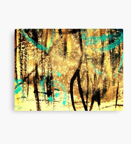 tree spirits..... forest snow Canvas Print
