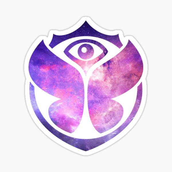 Tomorrowland - Galaxy Sticker