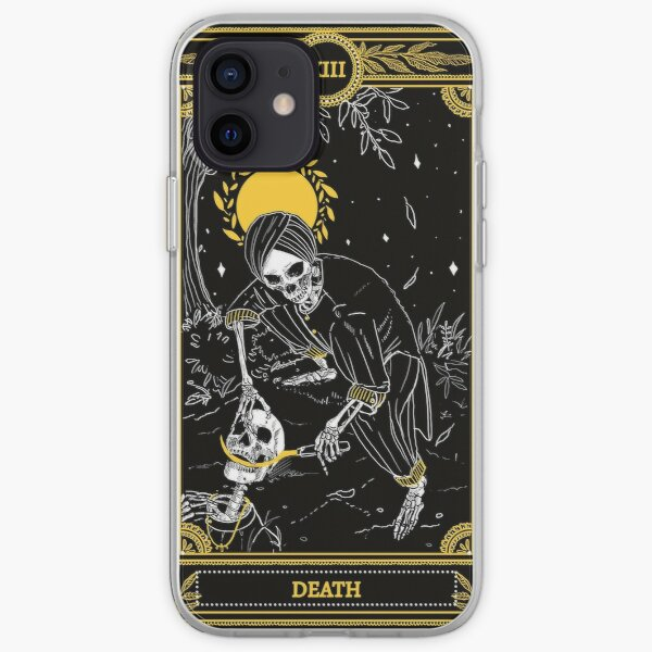 The Death Tarot Card iPhone Soft Case