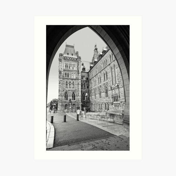 Parliament Hill - Centre Block Art Print