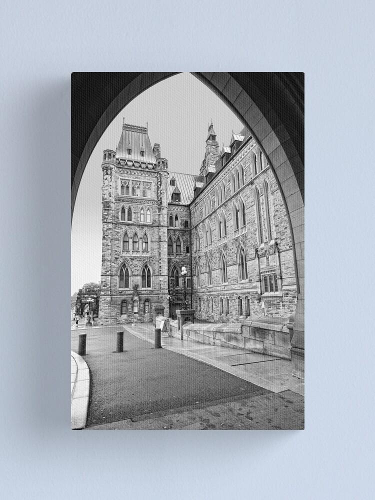 Alternate view of Parliament Hill - Centre Block Canvas Print