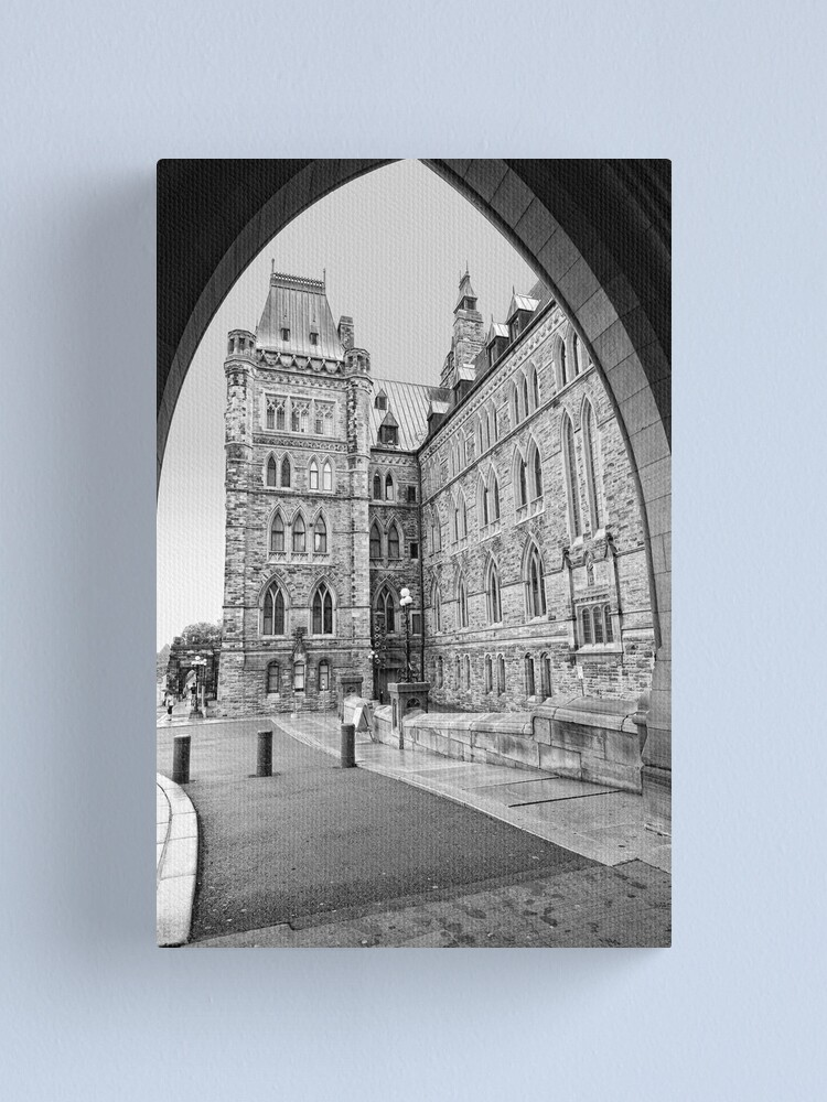 Alternate view of Parliament Hill - Centre Block Canvas Print